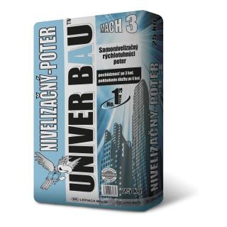 UNIVER BAU Nivelační potěr rychleschnoucí MACH3 25kg