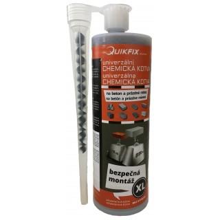 Quikfix XL - univerzální polyesterová chemická kotva 410ml