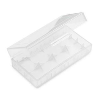 Plastová krabička na 2ks baterie 18650