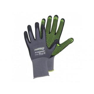 STALCO Pracovní rukavice Nitrile Flex Perfect PVC